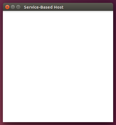 service-based-host-empty